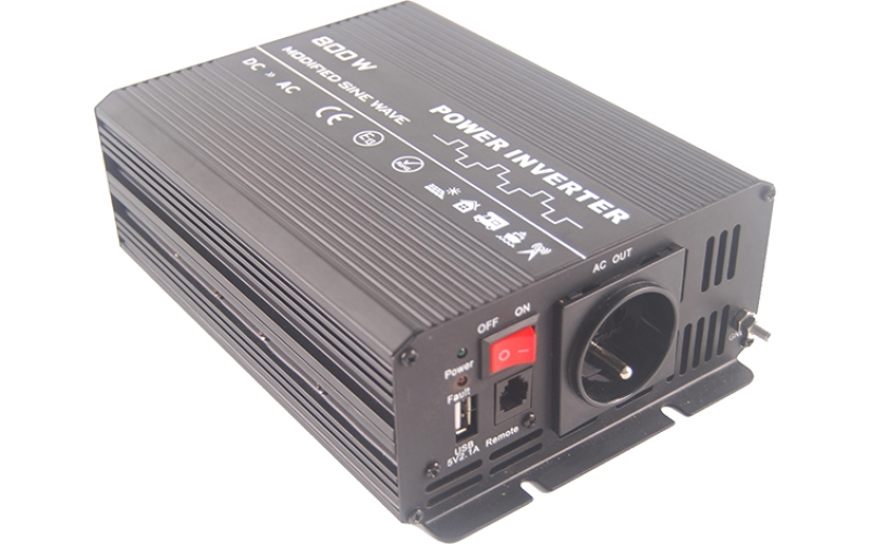 800W Modified sine wave inverter